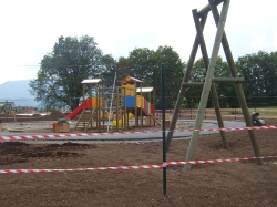 Otroško igrišče Lesce