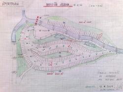 Parkirišče Jezerca - idejna skica