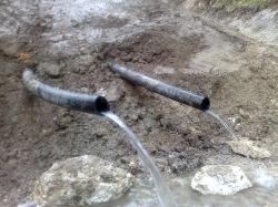 Zajem pitne vode - cca 2l/s