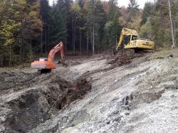 planiranje (čiščenje) terena po končanih delih