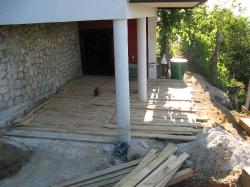 terasa iz hrastovih desk
